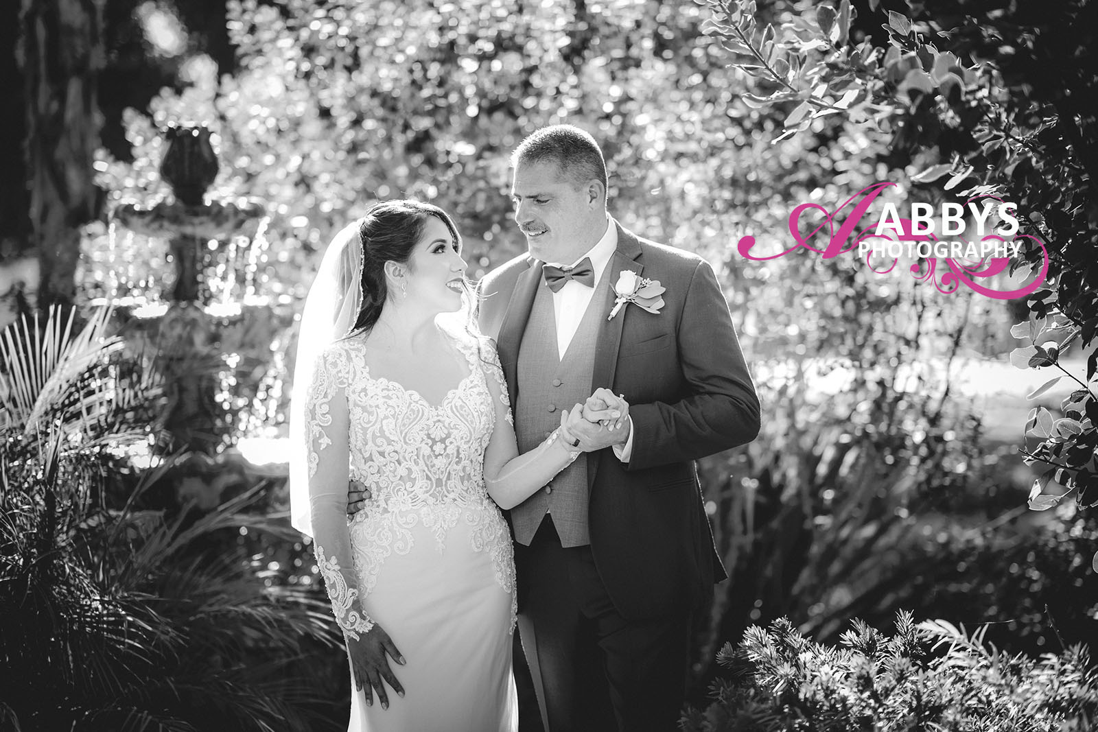Wedding photography or engagement photography can be just as effective in black and white as in color.